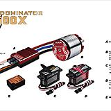 Align T-REX 500X Dominator Super Combo Power Package