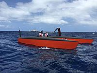 Name: GUN Boat almost foiling.jpg Views: 74 Size: 73.7 KB Description: