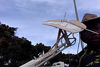 Name: XF-706 Glider Mods--Mock install, with elevator cable extended to assess linkage--3-31-19@5.32pm.jpg Views: 4 Size: 189.1 KB Description: