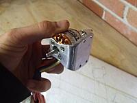 Name: motor mountDSCF4354.jpg Views: 180 Size: 123.4 KB Description: ken. ken fabricate a motor mount :D brushed aluminium is a thing of beauty