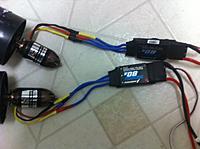 Name: su35 -photo 3.jpg Views: 740 Size: 108.0 KB Description: Setup  Twin cyclone power 2500kv motors & HW 80 esc