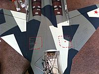 Name: su35 bbbbphoto 3.jpg Views: 481 Size: 187.9 KB Description: wing attached