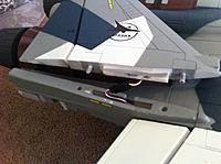 Name: su35 bphoto 2.jpg Views: 538 Size: 135.9 KB Description: Rudder attaches similar to wing minus the steel tube.