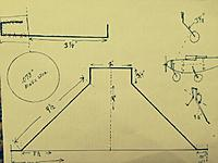 Name: OSK40.jpg Views: 103 Size: 107.6 KB Description: Here are the rough dimensions for the gear I made.  I recommend making a cardboard template and testing it out with before bending wire to make sure it will work with wheels and fuse mounting.