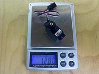 Name: 2012-02-27_00-56-11_127.jpg Views: 37 Size: 87.5 KB Description: New Power XLD-9HMB, 12.8g (digital metal gear with ball bearing)  Definitely NOT 9g as claimed...