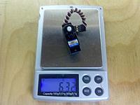 Name: 2012-02-27_00-56-44_671.jpg Views: 30 Size: 89.3 KB Description: New Power XL-8A, 6.32g  (an 8g servo that weighs a little over 6g?  Weird.)