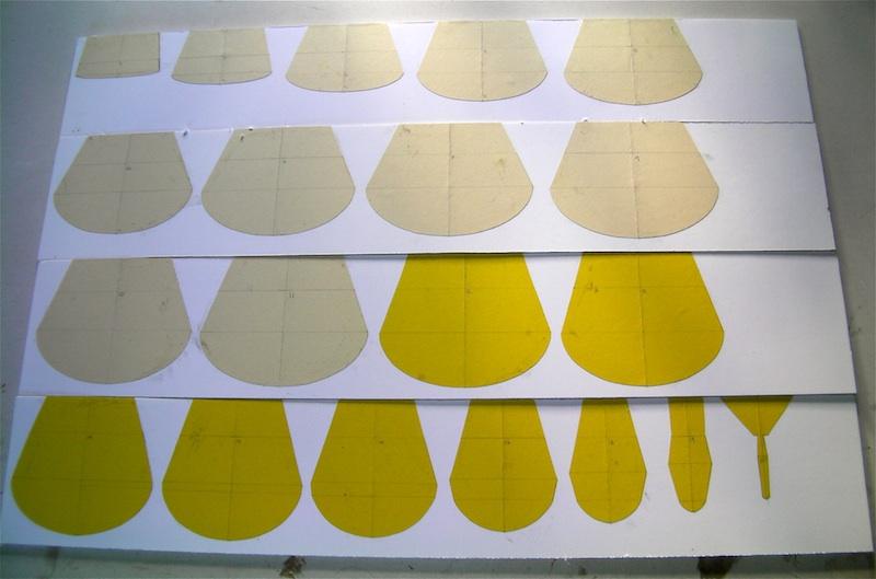 Name: 7 bor sheet templates.jpg Views: 185 Size: 104.3 KB Description: paper templates all glued onto the foam board