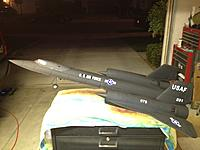 Name: SR-71 with decals.jpg Views: 58 Size: 184.7 KB Description: Ready for flight #2...