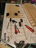 Name: Falcon wing build.jpg Views: 175 Size: 194.0 KB Description: Port wing build