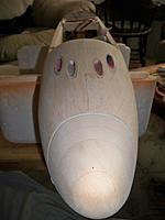 Name: nose & cannons 025.jpg Views: 110 Size: 73.7 KB Description: sanded flush