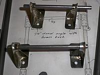 Name: landing gear 052.jpg Views: 131 Size: 154.6 KB Description: drilled and ready to mount.
