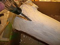 Name: cowl plug two 043.jpg Views: 85 Size: 138.5 KB Description: a chisel and hammer is more like it  easy w/ the chisel