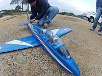 Name: photo 0.jpg Views: 274 Size: 154.9 KB Description: MB339 Pre-flight check. :)