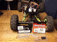 Name: !   WLtoys Across 12428 19 Mods,spacers, 2mm bolts & silicone to space top of Rr shocks.jpg