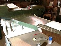 Name: IMG_1736.jpg Views: 253 Size: 254.7 KB Description: Inside of flaps painted an aviation undercoat green known as 'Cockpit Green'.