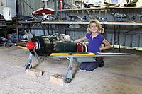 "Name: IMG_0496.jpg Views: 360 Size: 276.2 KB Description: The BIG 96"" Ziroli Zero In Ray's Hangar"