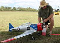 Name: Chilly fuels up his AT 6 Texan.jpg