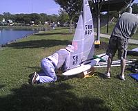 Name: Readying boat 4 her Maiden 1.jpg