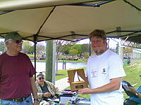 Name: 1rst place Winner Steve H in white shirt Commodore of GMYC.jpg