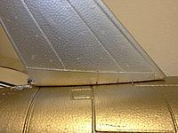 Name: IMG_2441.jpg Views: 77 Size: 219.4 KB Description: Nice snug fit next to fuselage -Top view.