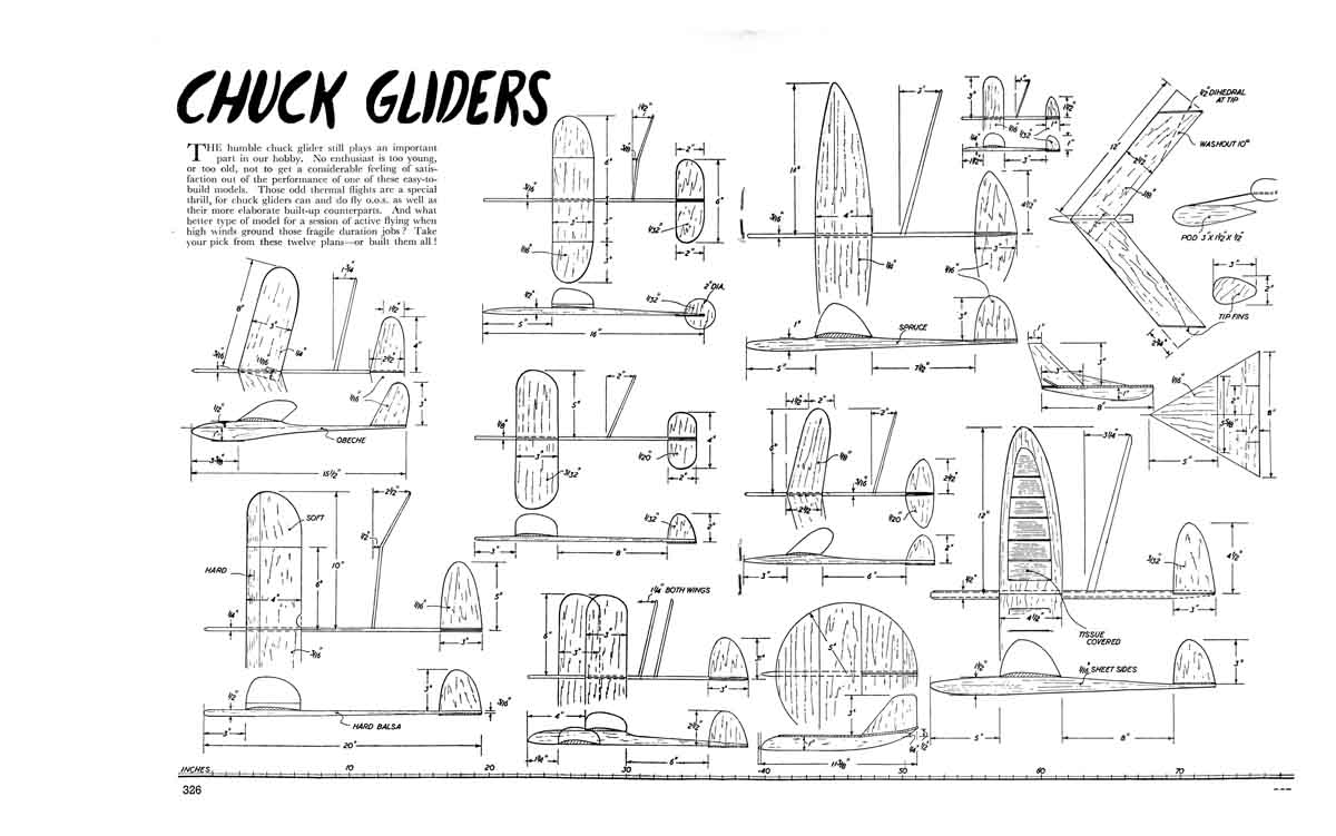 Attachment browser: Chuck Glider plans jpg by aeromeddeler - RC Groups