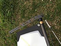Name: df95 CF crane fitting.jpg Views: 423 Size: 559.6 KB Description: Carbon fiber Crane!