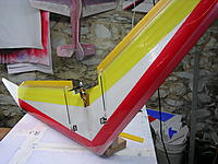 "Name: DSCN2108.jpg Views: 192 Size: 242.6 KB Description: 52""Zagnutz wing ready for maiden flight!"