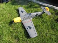Name: MK_109_MK1.jpg Views: 144 Size: 143.7 KB Description: My original GWS ME-109... brushed motor was just too weak and I crashed it after one or two flights.