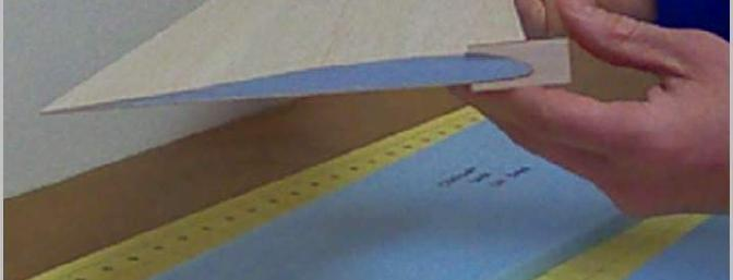 Verifying the accuracy of the airfoil; PERFECT!