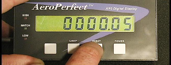 The Aero Perfect Digital Control Throw Meter is a precision piece of equipment.  I liked the tool so well I bought one for my own use.