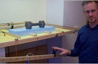 The automated foam cutter is explained in detail how to setup and use.