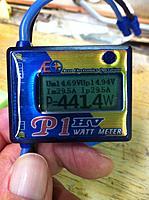 Name: IMG_1326.jpg Views: 63 Size: 137.4 KB Description: Watt meter reading on Dynam Sbach orPeaks biplane