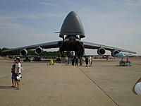 Name: C-5M supergalaxy cargo bay.jpg Views: 388 Size: 137.1 KB Description: An exponentially large Pringles can with two lids, two wings, and four engines
