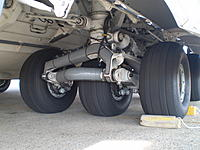 Name: C5 landing gear.jpg Views: 2942 Size: 194.8 KB Description: The landing gear of the C-17. I am barely bent over in this picture.