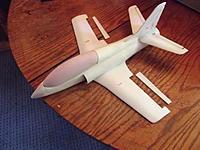 Name: DSCF1160.jpg Views: 64 Size: 193.9 KB Description: A little spackle,a little sanding,attach the ailerons and RTF..