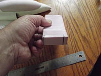 Name: DSCF1326.jpg Views: 37 Size: 152.7 KB Description: Pic #38. Side marked and now to mark the backside of this plug.