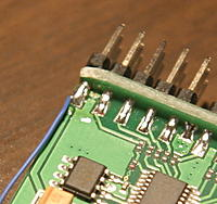 Name: sparepin.jpg Views: 1290 Size: 176.9 KB Description: Using the spare pin for the RSSI
