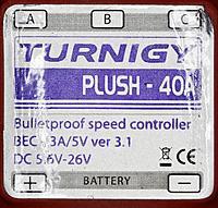 Name: Plush 3.1 40A label.jpg Views: 46 Size: 152.9 KB Description: Plush 3.1 40A label