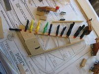 Name: IMG_4068.JPG Views: 46 Size: 473.4 KB Description: Capstrips added to leading edge of fin.