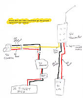 5v camera 12v transmitter wiring diagram rc groups rh rcgroups com rear camera wire diagram ip camera wire diagram