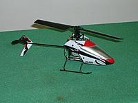 Name: S5000835.jpg Views: 71 Size: 275.9 KB Description: Blade mSRx. Nice little bird.