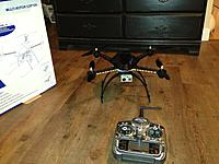 Name: IMG_1581.jpg Views: 93 Size: 251.1 KB Description: Gopro mounted with Velcro on a piece of balsa wood thats zap strapped on