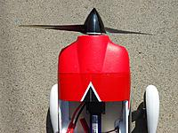 Name: Sbach Spinner_02.jpg Views: 184 Size: 266.7 KB Description: Sbach EPO GP spinner top view
