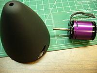 Name: ME 309 011.jpg Views: 228 Size: 196.2 KB Description: balanced spinner and a Hacker motor