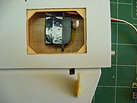 Name: me 309 002.jpg Views: 217 Size: 119.7 KB Description: servo glued in with 15 min epoxy and some microballoon