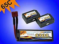 Name: 65C car.jpg Views: 90 Size: 34.4 KB Description: lipo pack: 3S2P 6300mAh 65C Model type: HR6300SP65-3S2P/CAR Dimension: T:W:L=38mm:46.5mm:137.5mm Weight: 3459g; Continuous discharge current: 65C (409.5A); Burst discharge current: 130C (819A);