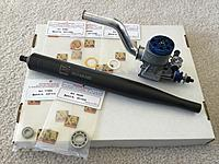 Novarossi R61F w/Header, Tuned Pipe, and Extras - RC Groups