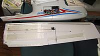 Name: SANY0174.jpg Views: 227 Size: 137.6 KB Description: back of wing, extra carbon rod on top, fiber tape reinforcing