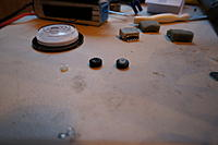 Name: DSC00059.jpg Views: 85 Size: 95.1 KB Description: I cut the plastic spacer down to the thickness of the F550 bottom plate...