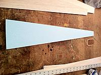 Name: wing sheeting 047.jpg Views: 53 Size: 292.0 KB Description: Sand the cores and the sheet smooth